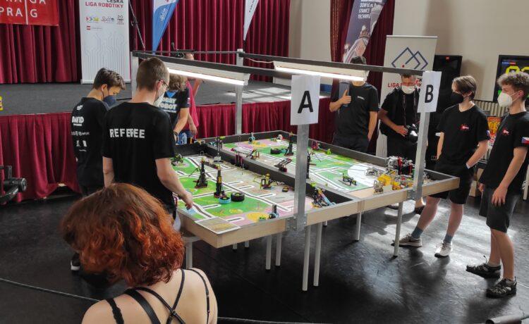 Česká liga robotiky v roudnickém DDM TREND